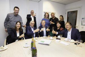 ondertekening contract Hartekamp Groep en RAM-IT